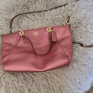 Coach Small Kelsey Antique Rose Gold